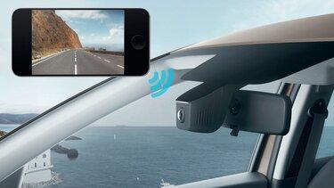 Caixa negra vídeo integrada Dacia Logan