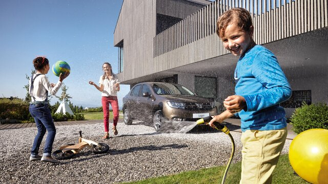 Dacia Logan - Voiture familiale