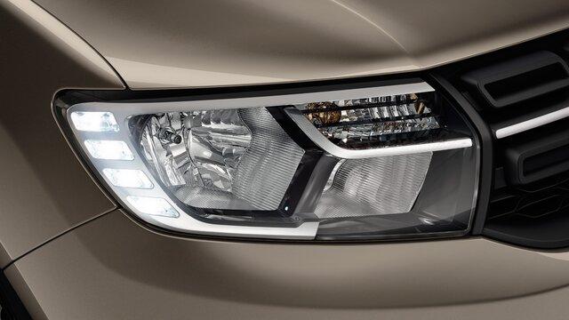 Dacia Logan - Voorlicht