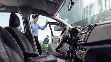 Dotări standard pentru Dacia Logan
