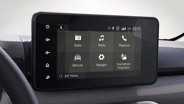 Noul Dacia Logan Media Control