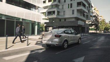 Dacia Logan ECO-G parte delantera