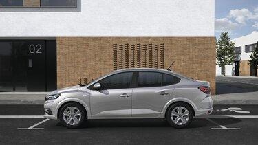 Új Dacia Logan családi szedán oldalról