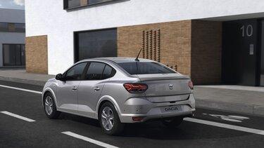 Új Dacia Logan családi szedán hátulról