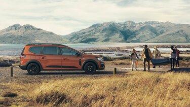 Der neue Dacia RJI - Außendesign