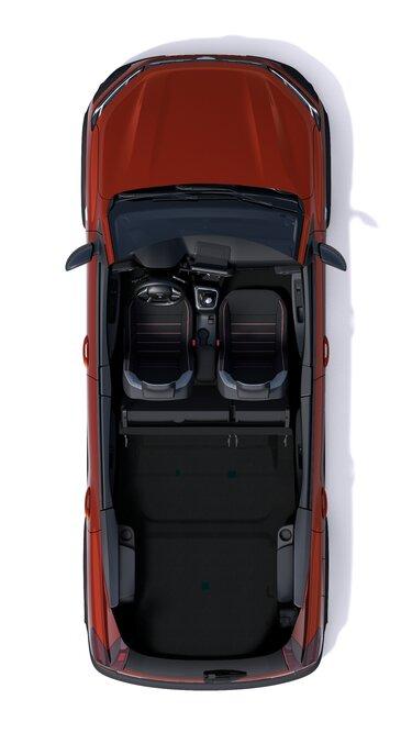 Der neue Dacia Jogger Innenansicht