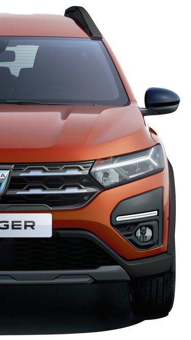 Der neue Dacia Jogger Lichtsignatur und LED-Abblendlicht
