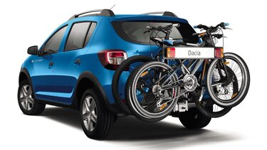 Sandero Stepway - Bicycle rack