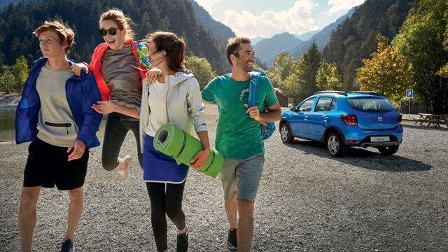 Dacia Sandero Stepway – veliki prtljažnik