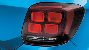 Sandero Stepway rear light