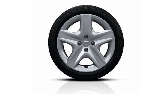 Sandero Stepway Bayadère Dark Metal designer wheel rims
