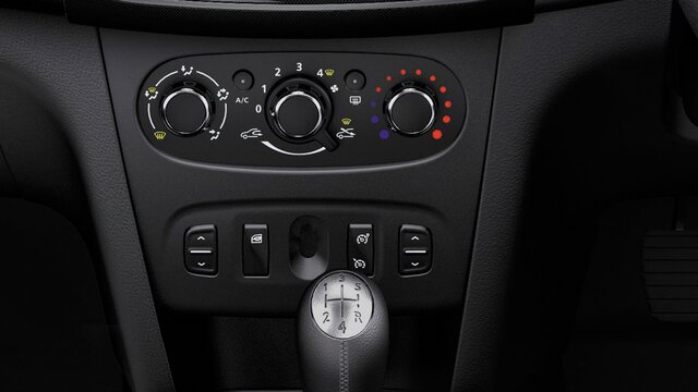 Sandero Stepway - air conditioning