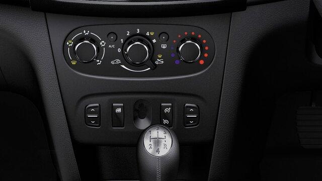Dacia Sandero – Manuelle Klimaanlage