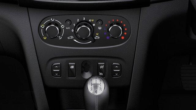 Dacia Sandero Stepway – Manuelle Klimaanlage