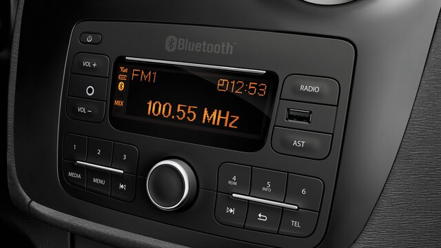 Sandero Stepway – Dacia Radio Connect