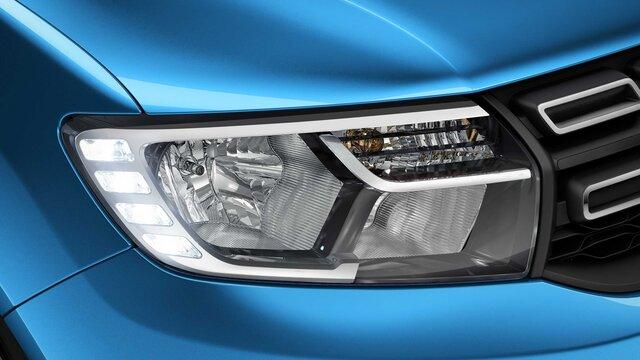 Sandero Stepway front headlight