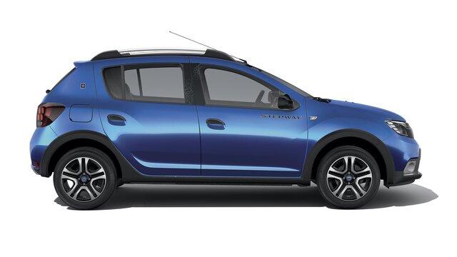 Dacia Sandero Stepway 15ème anniversaire Vue de profil