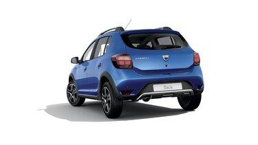 Dacia Sandero Stepway 15 aniversario vista trasera de 3/4