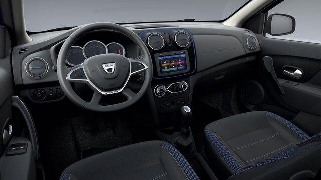 Dacia Sandero Stepway 15ème anniversaire design intérieur
