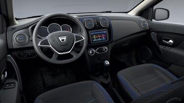 Dacia Sandero Stepway 15° anniversario design interno