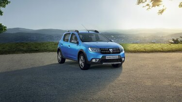 Dacia Sandero Stepway con esterni blu
