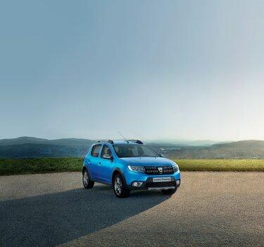 Dacia Sandero Stepway extérieur bleu