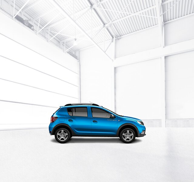 Afmetingen en specificaties van de Sandero Stepway