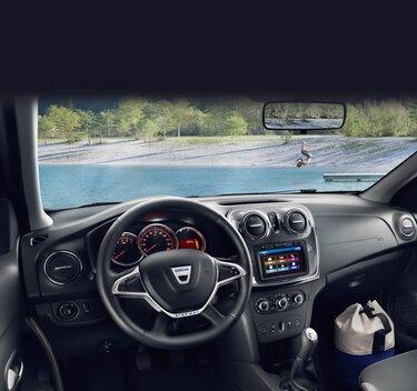 Dacia Sandero Stepway - deska rozdzielcza od wewnątrz