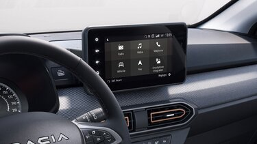 Sandero Stepway Media Nav multimediesystem