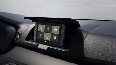 Sandero Stepway multimediesystemet Media Display