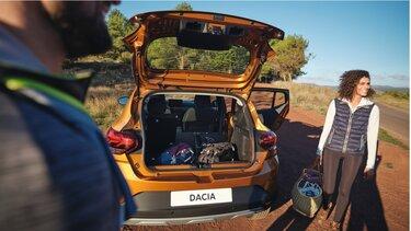 Dacia sandero stepway - achterbak