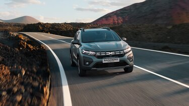 Sandero Stepway-crossover - Specificaties