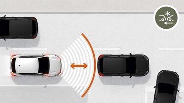 Active emergency braking system (AEBS) - Sandero Stepway