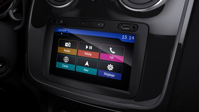 Sandero - Dacia media nav multimedya sistemi