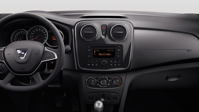 Sandero equipment - Dacia Radio