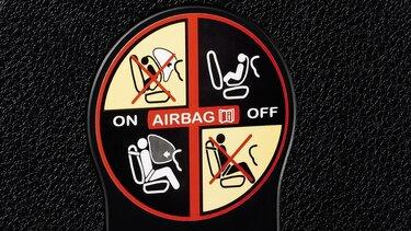 Sandero - Airbag do passageiro dianteiro desativável