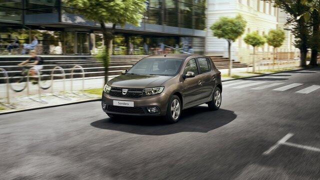 Promozione su Dacia Sandero Van