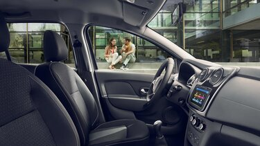 Dacia Sandero - interior