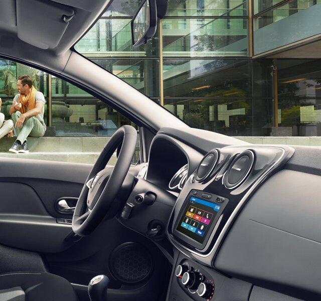 Dacia Sandero - interiér