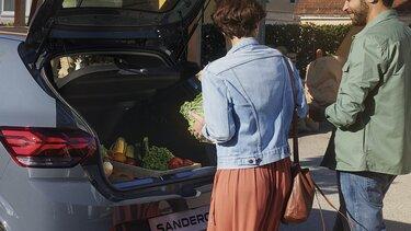 Багажник на Sandero