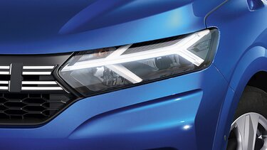 Sandero LED headlights