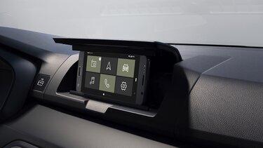 Мултимедийно управление на Dacia Sandero