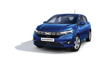 Frontansicht neuer  Dacia Sandero