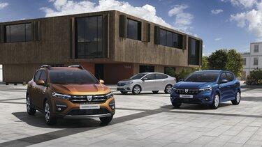 Dacia Sandero, Sandero Stepway & Logan