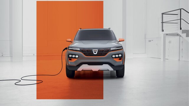 Dacia Spring Electric showcar