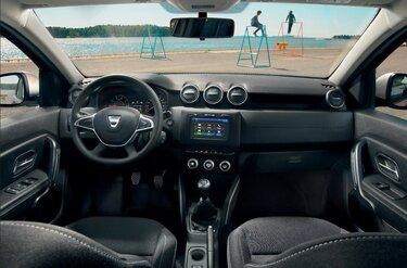 Interieur van de Dacia Lodgy