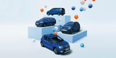 Dacia Jubileum Serie Limitee 15th anniversary modellen
