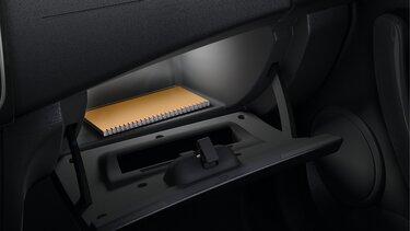 Dacia boek in autokastje