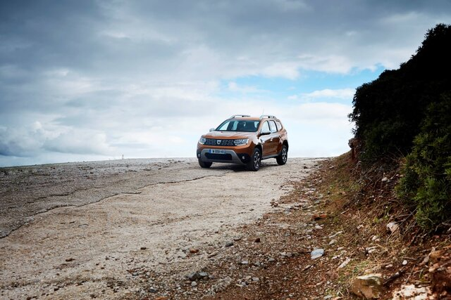 Dacia Duster off-road
