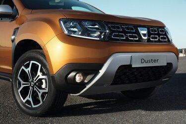 Dacia Duster off-road interieur